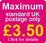 Max UK postage £3.50 click for details